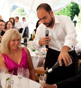 opera singing waiters hire