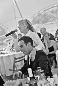 Book a stunning soprano singing waiter to entertain for your dinner party