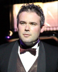 Tenor Singing Waiter Russ for hire